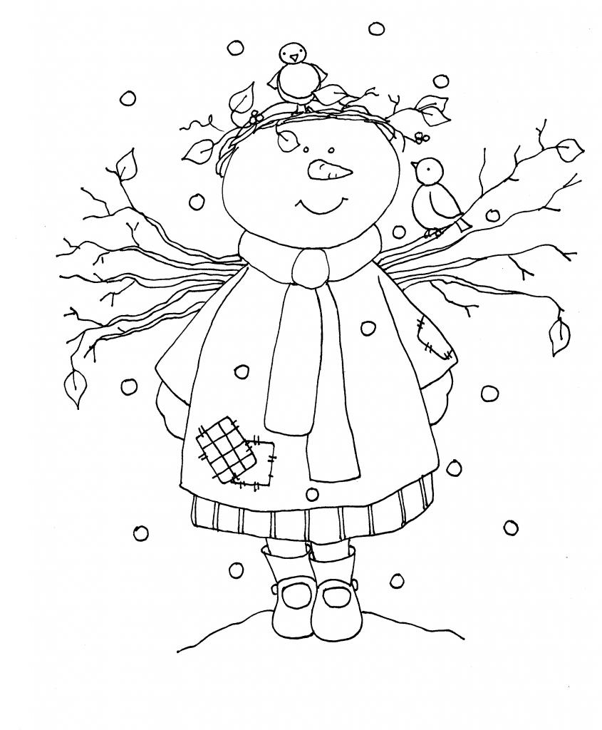 Winter Ausmalbilder Für Kinder : El Ba L De La Se O Http Elbauldelasenyo WordPress Com Christmas