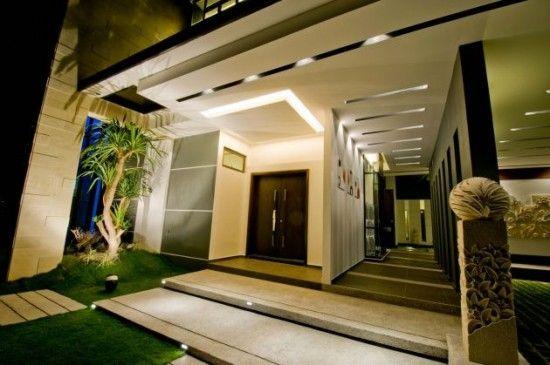 House Main Entrances Contemporary Design