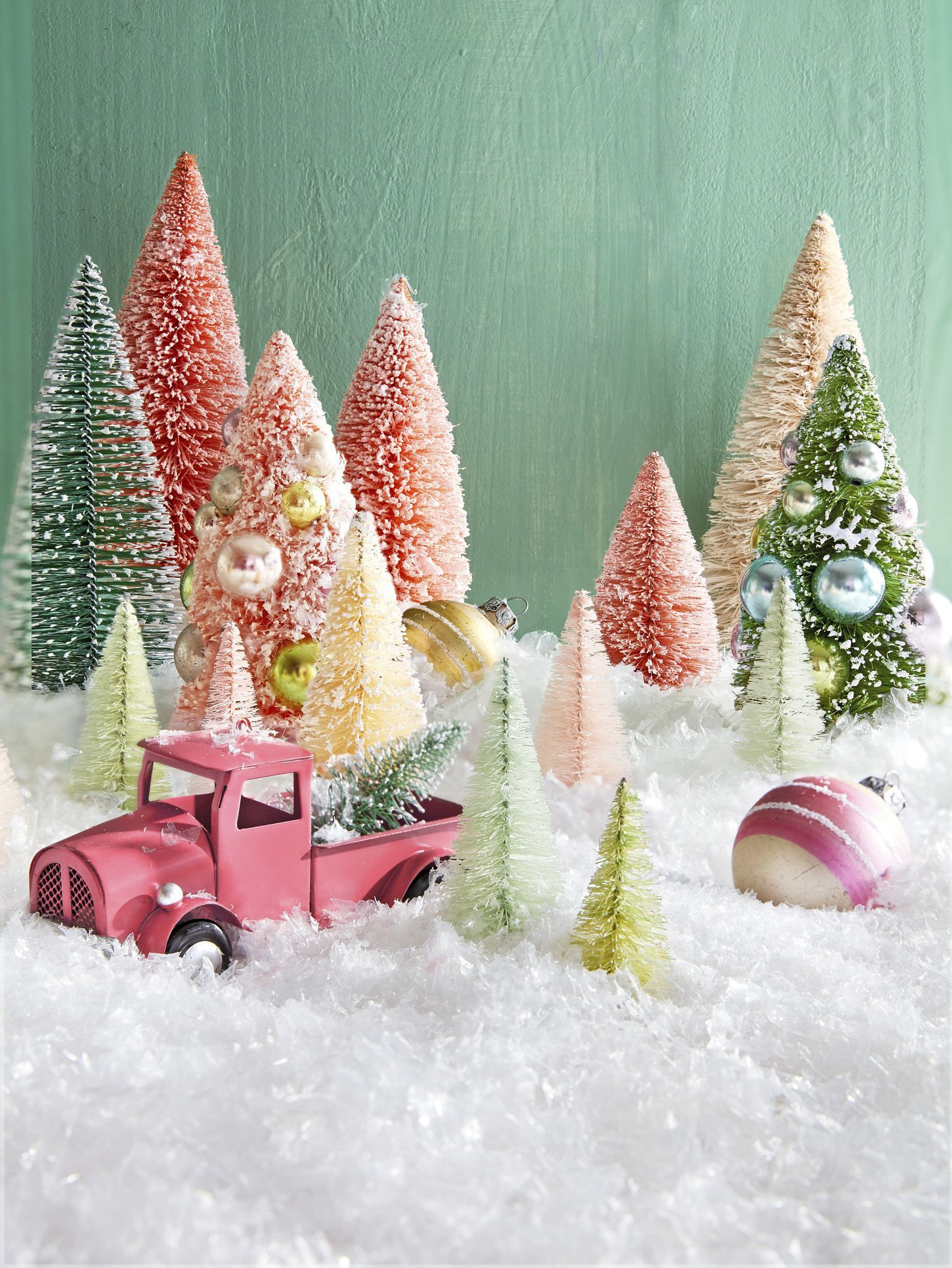 17 beautiful ways to decorate with bottle brush trees this