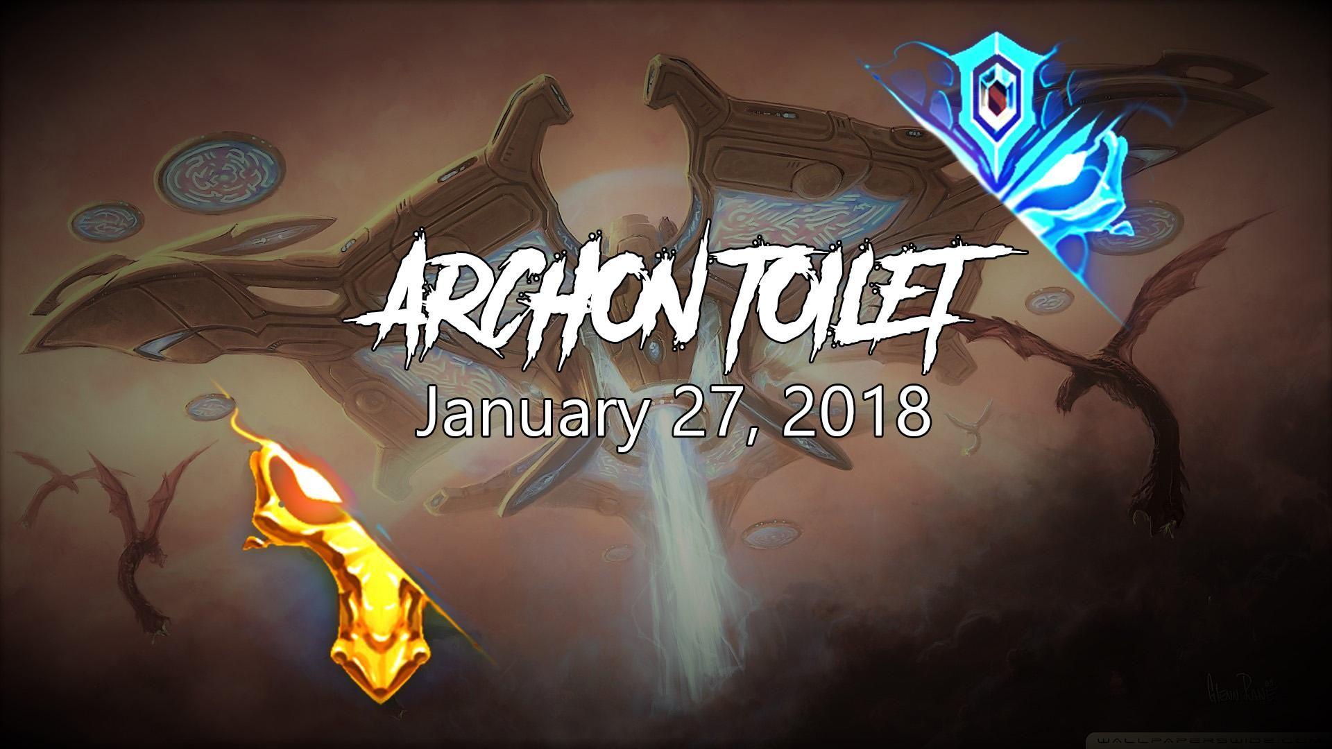 Archon Toilet $100 Community Tournament! UPDATE #games