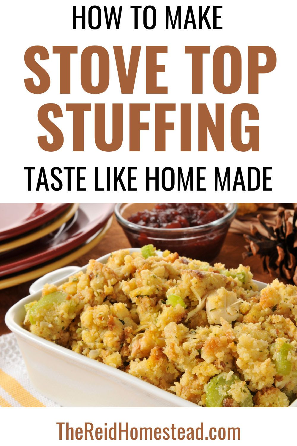 How to Make Stove Top Stuffing Taste Like Home Mad