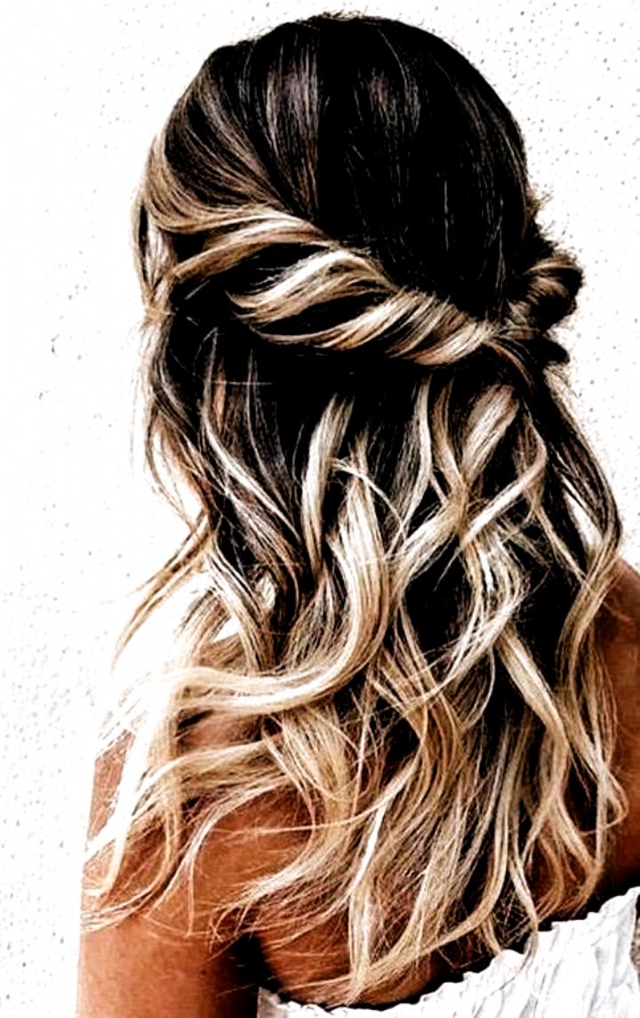 Gorgeous Wedding Hairstyle & Bridesmaid Hairstyles – My Stylish Zoo#haircolori... #Hair