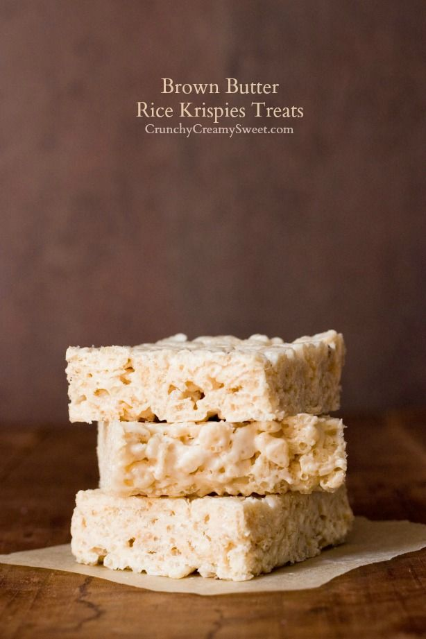 brown butter rice krispies