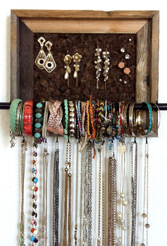 8x10 Custom Jewelry Organizer by AfterTheLeavesFall on Etsy Stuff