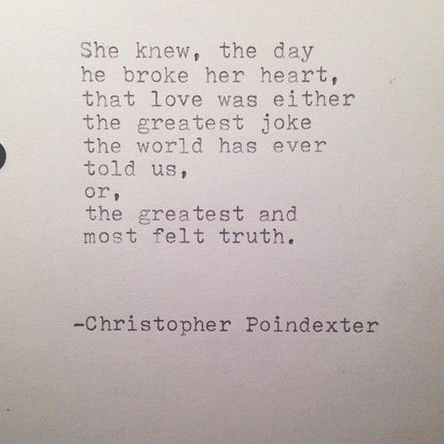 The Universe and Her, and I poem #107 written by Christopher Poindexter