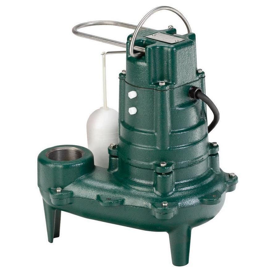 Zoeller 0 5 Hpcast Iron Sewage Sump Pump Sewage Ejector Pump Submersible Sump Pump Sewage Pump
