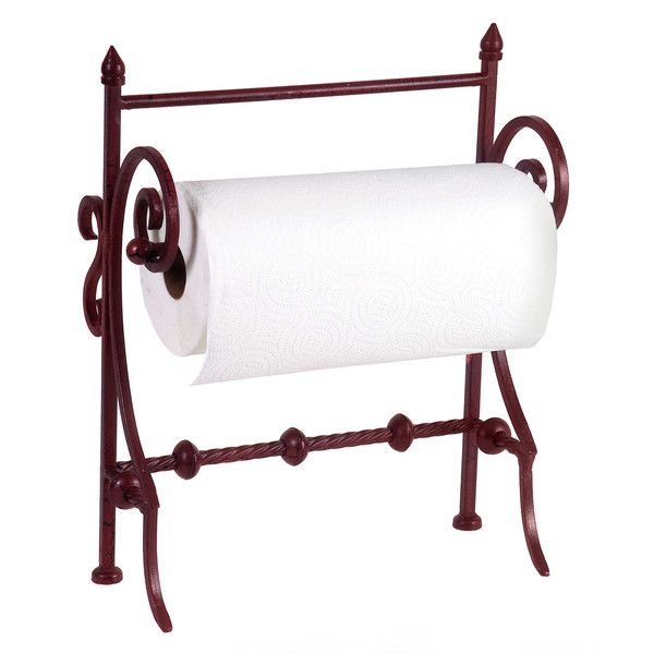 This Red Paper Towel Holder will keep your paper towels looking stylish on the counter.