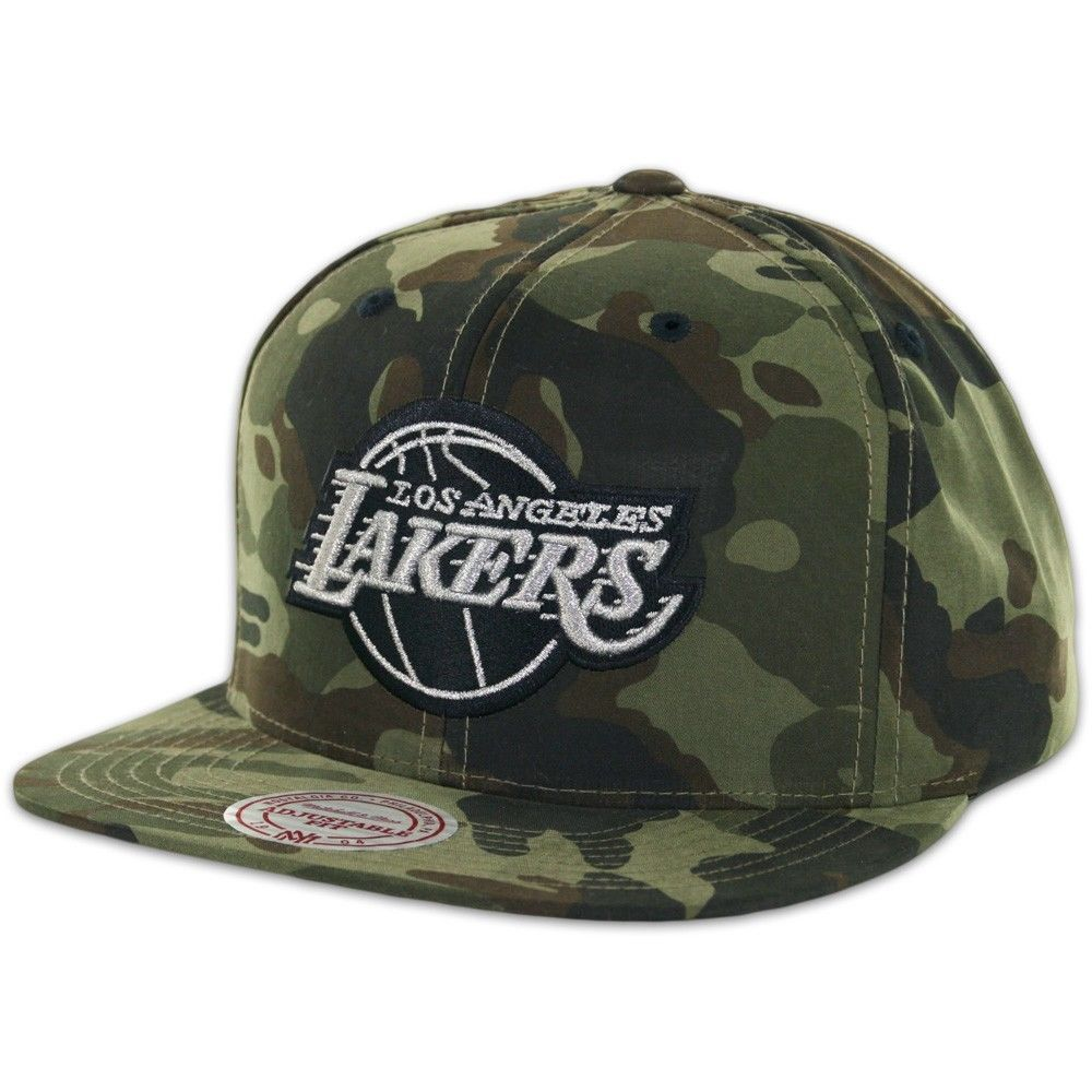 Mitchell & Ness Los Angeles LA LAKERS WOODLAND CAMOUFLAGE