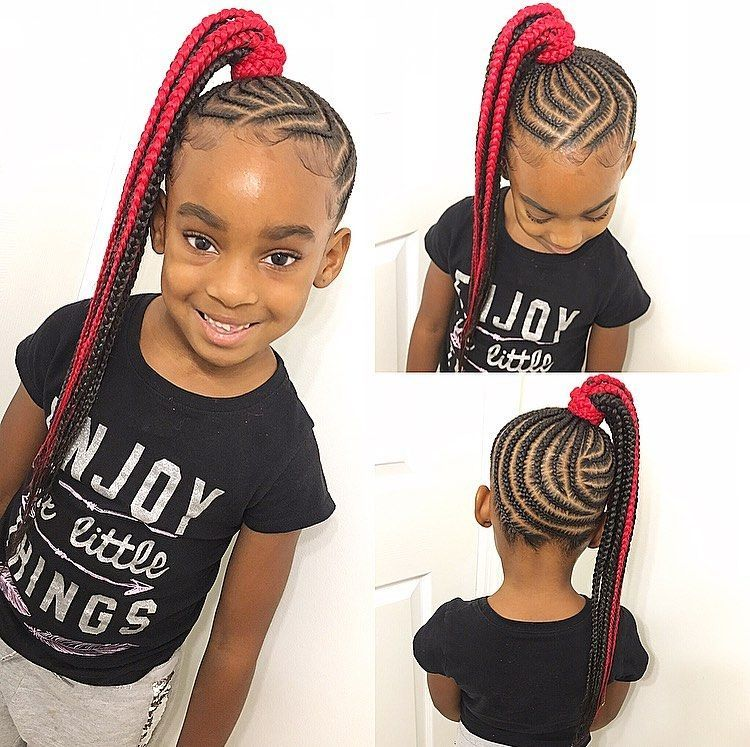 Braids For Kids 100 Back To School Braided Hairstyles For Kids In 2020 Kids Hairstyles Kids Braided Hairstyles Kids Hairstyles Girls