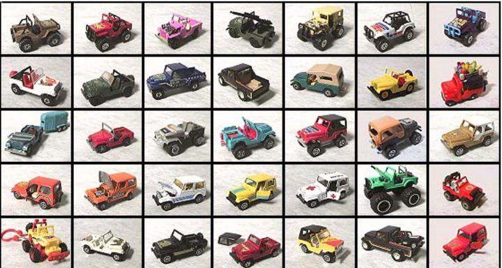 Juguetes Jeep