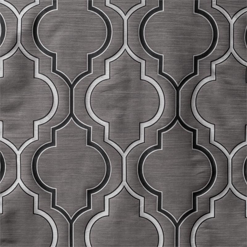 Tryst Curtain Panel In A Quatrefoil Moroccan Tile Design |  BestWindowTreatments.com