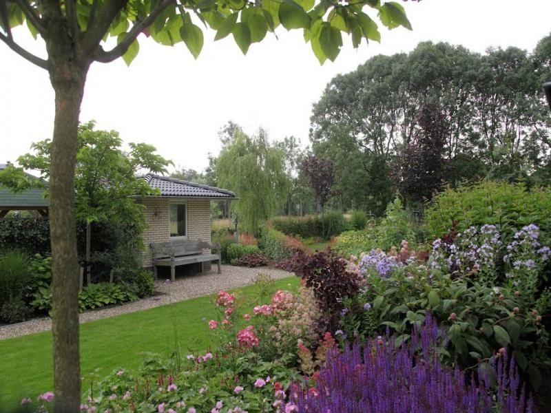 Landelijke stadstuin in rotterdam tophoveniers garden