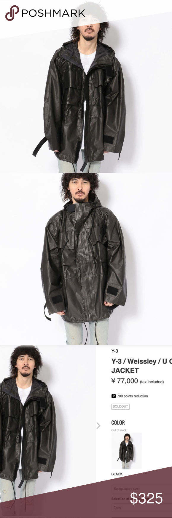 Y 3 Yohji Yamamoto Adidas Gore Tex Oversize Jacket Oversized Jacket Yohji Yamamoto Jacket Brands