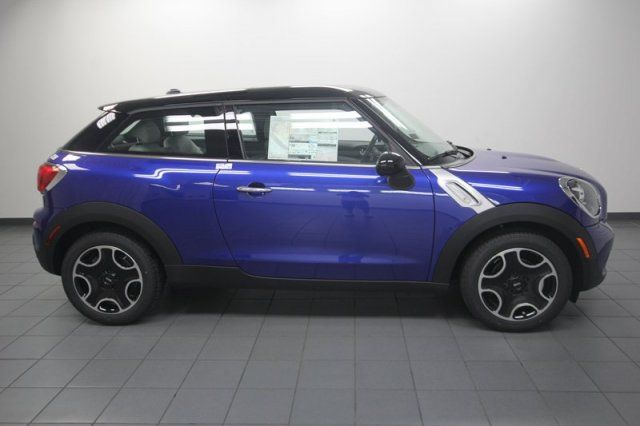 2013 MINI Cooper Paceman $26,045 Bright Blue with Ivory Interior