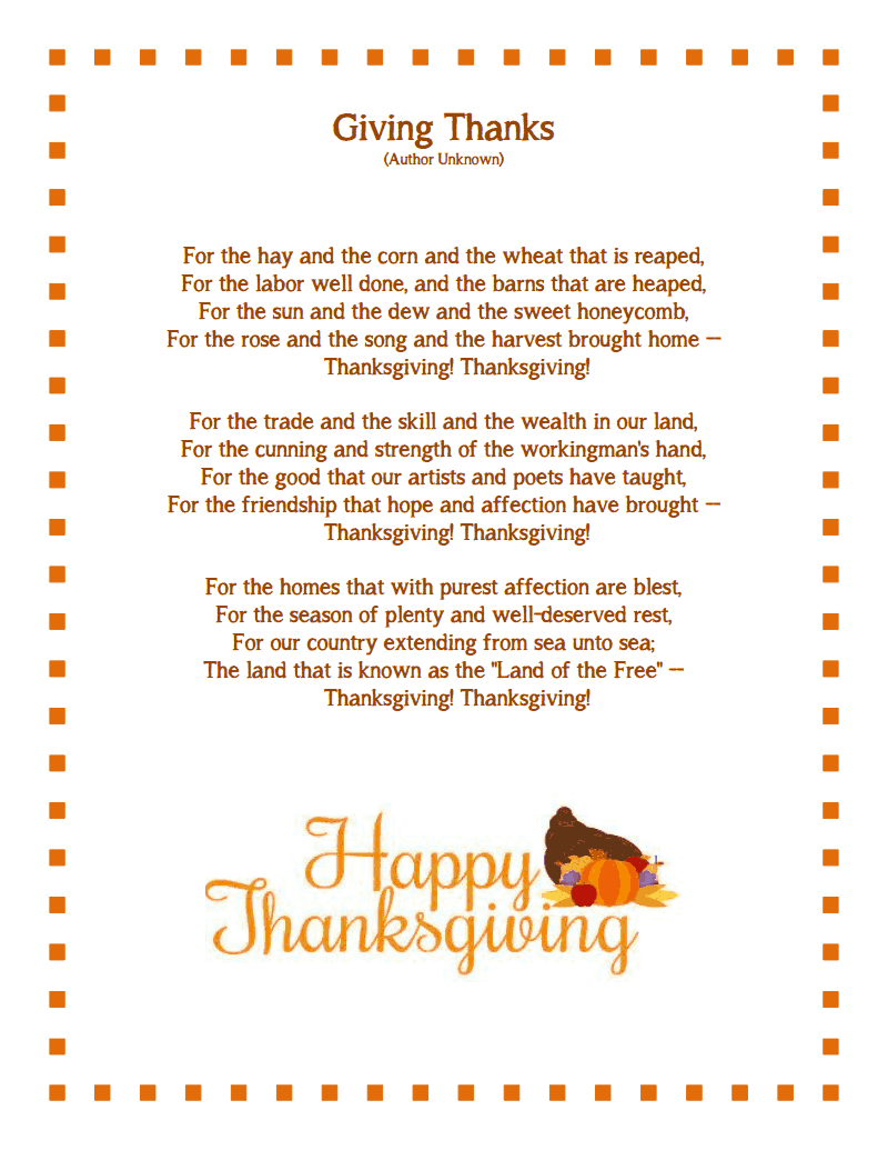 Uncategorized Thanksgiving Poems For Children thanksgiving poem messages free download for facebook wishes messages