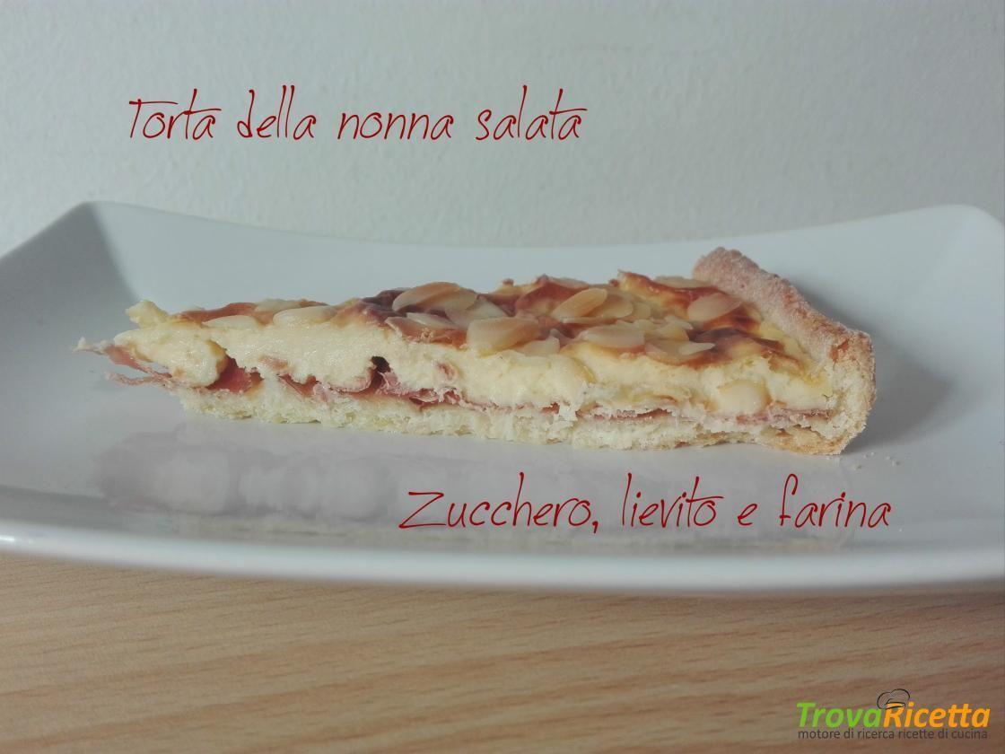 Photo of Torta della nonna salata #ricette #food #recipes Le voglie