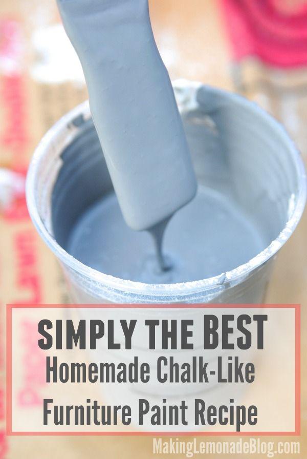 chalk paint recept