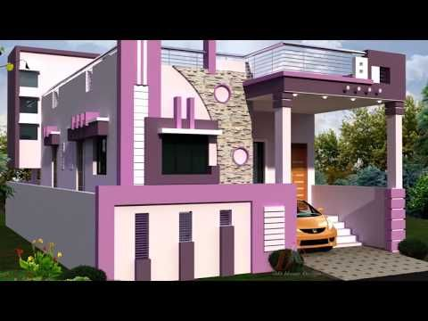 Best Homes With Staircase Towers Designs Youtube Small 400 x 300