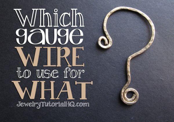 Wire Gauge 101 (Jewelry Making | Schmuck, Messgeräte und Schmuck ...