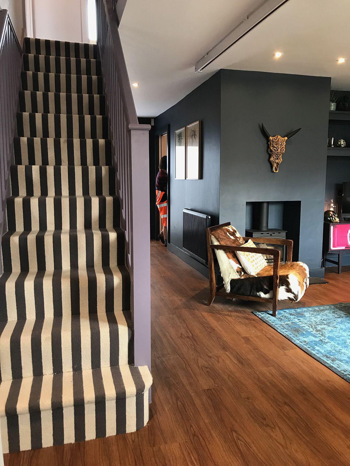 DIY SOS Bromsgrove reveal House design, Home, Bold wallpaper