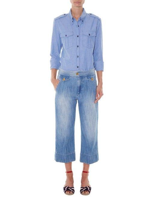 Isabel Marant Étoile Wandy chambray shirt
