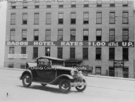 Baggs Hotel Located On Main Street In Downtown Utica Grew From A