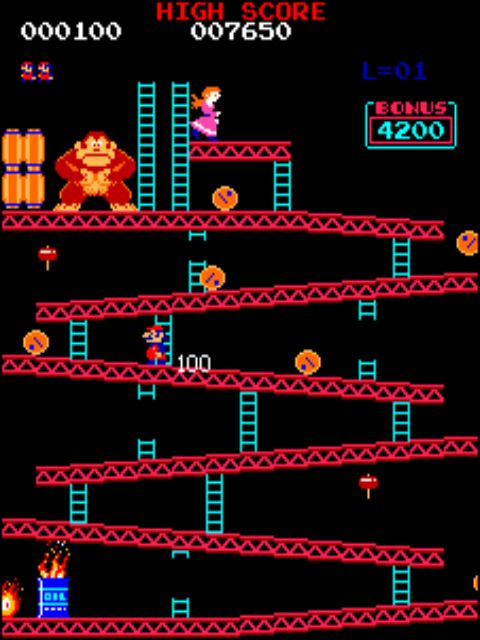 Donkey Kong Arcade Nes Recuerdos Pinterest Juegos Retro