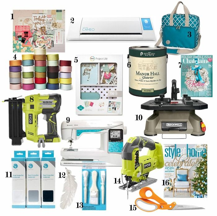 Christmas Gift Ideas For Woman Part - 28: 75 Christmas Gift Ideas For Crafters