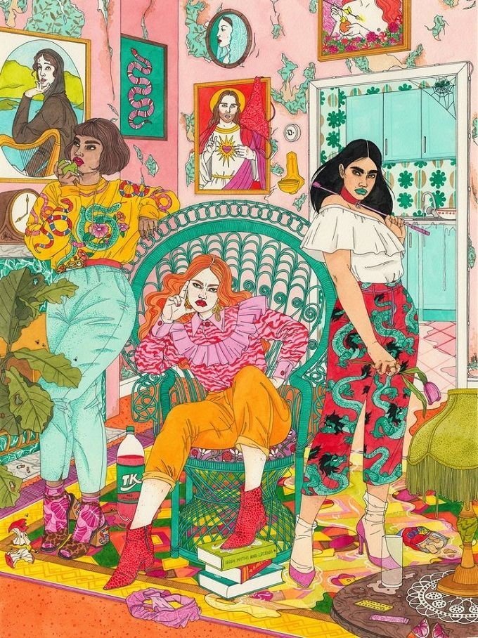Photo of Gorgeous Illustrations by Laura Callaghan