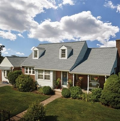 Best Home Featuring Gaf Timberline Hd In Fox Hollow Gray Home 640 x 480