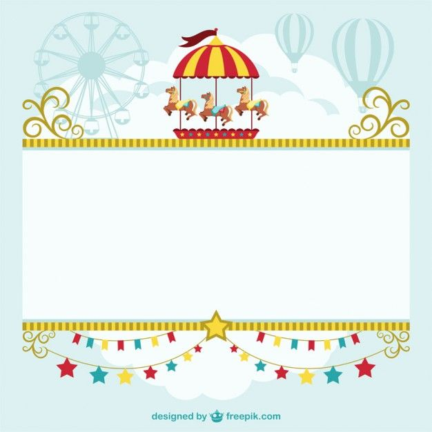 Circus tent template free download | Free Images | Pinterest | Circo ...