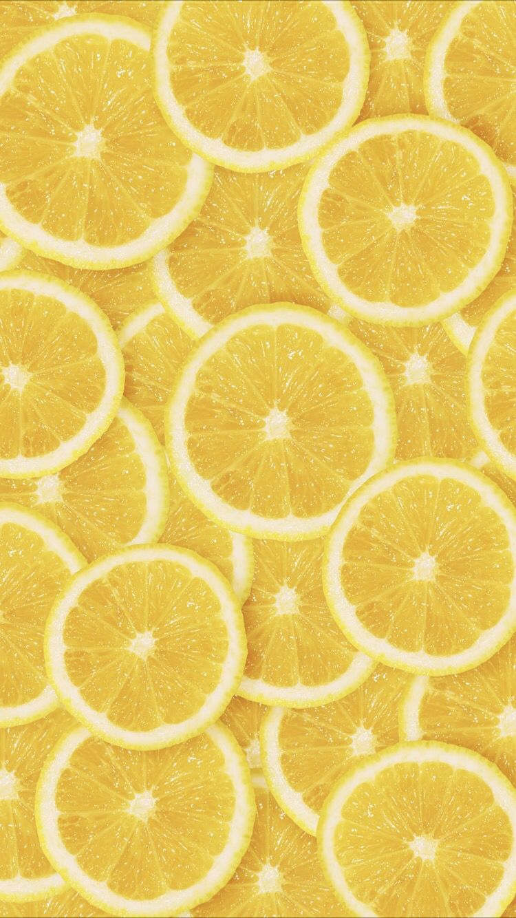 Lemon wallpaper for your iPhone X from Everpix Iphone