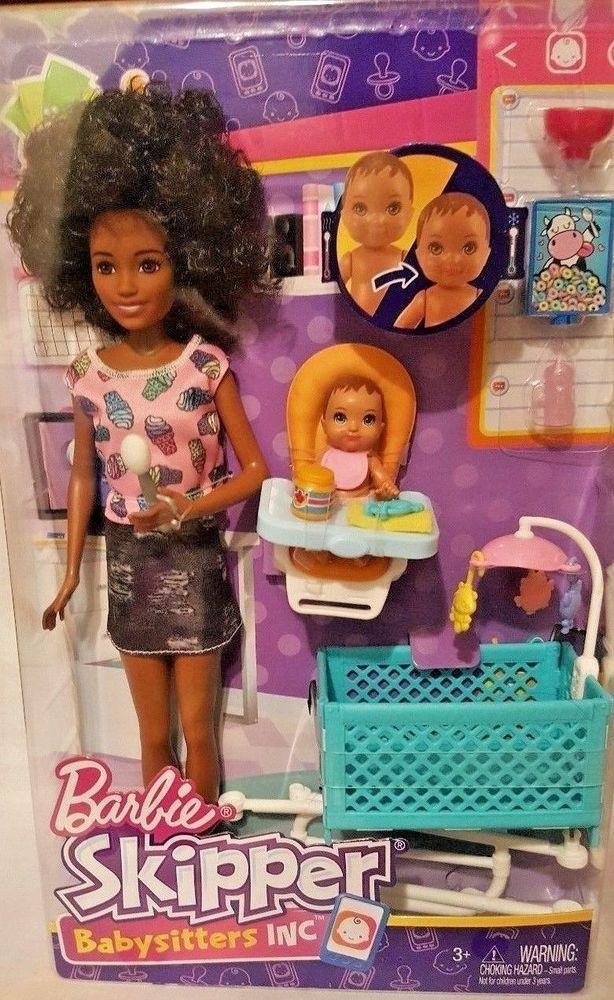 BARBIE Skipper Babysitters Inc African American Doll