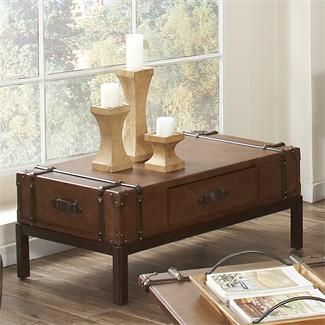 Latitudes Suitcase Coffee Table I Riverside Furniture