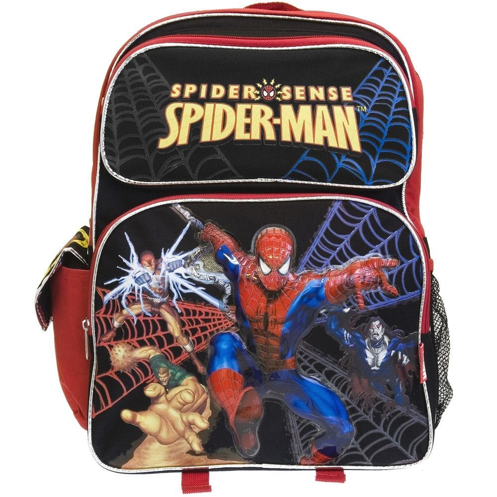 b00d36a12076 Spider-Man - Pursuing Villains Large Backpack in 2018