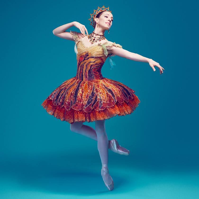 The Australian Ballet's Leanne Stojmenov. Photography Justin Ridler