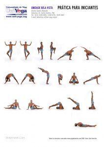 sadhanas  poses hatha yoga sequências de ioga e swasthya