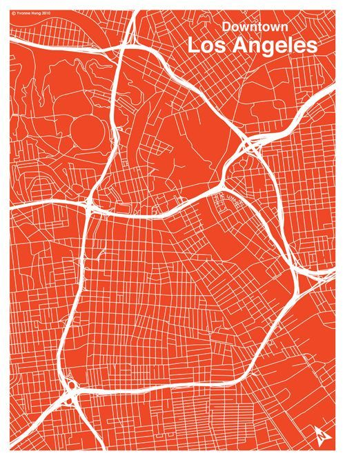Image Result For Graphic City Map Of LA LA Pinterest City Maps - Los angeles map vector