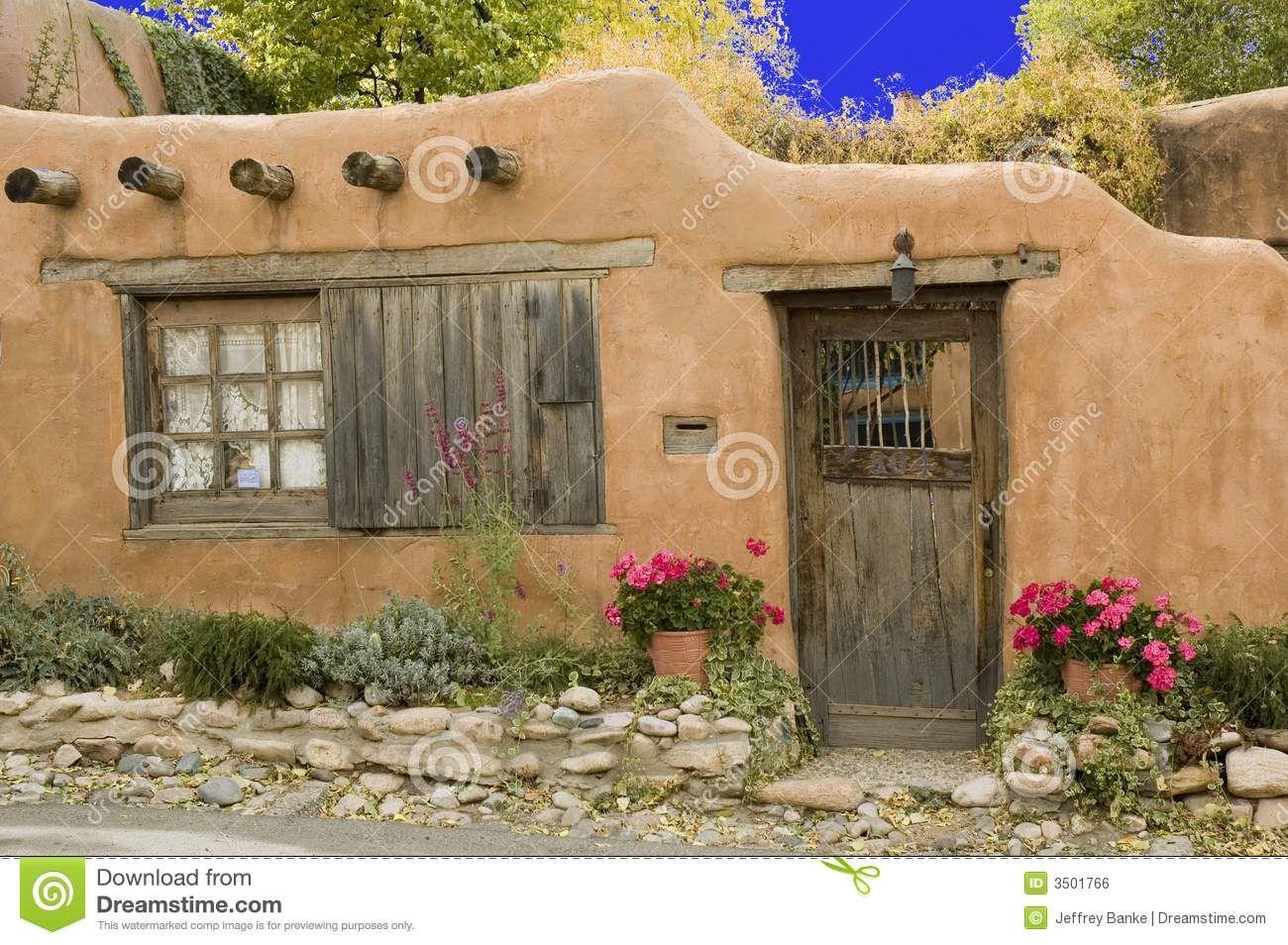 Cabana De Adobe Casas En Barro Adobe House Cottage