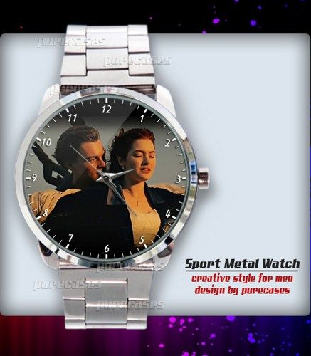 Jack and Rose titanic movie 5 Sport Metal Watch
