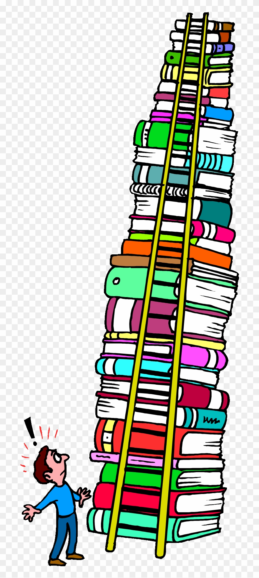 Tall Stack Of Books Clipart Download 9 Pinclipart Png Clipartix In 2020 Clip Art Stack Of Books Emoji Clipart