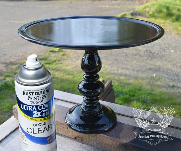 diy wedding cake stands easy diy cake stands that look like the real thing 13643