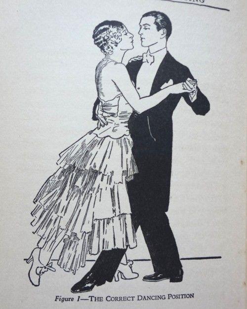 BALLROOM DANCE print  waltz foxtrot tango dancing art