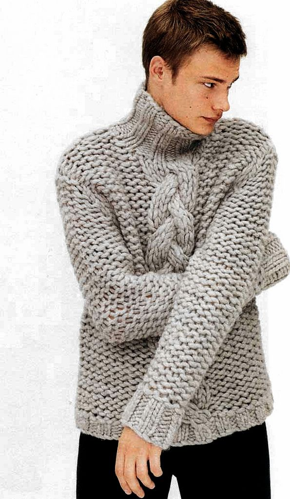 Boy In Wool Sweater Sueter Tejido Para Hombre Chaleco Tejido