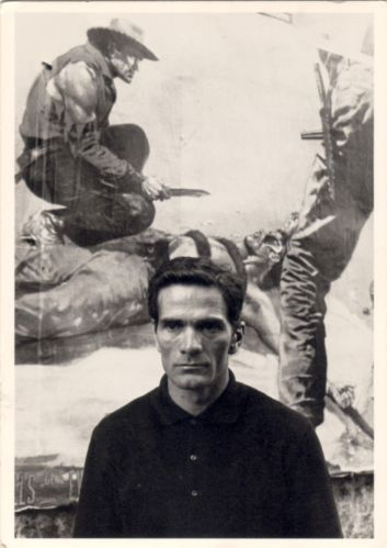 PIER PAOLO PASOLINI, CIRCA 1969. PHOTO BY JERRY BAUER,