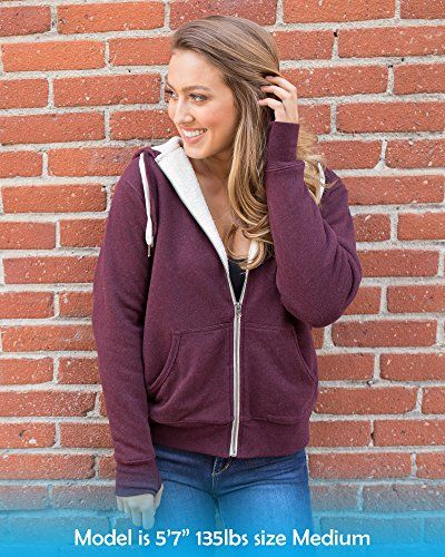 f72c6970d19e Global-Heavyweight-Sherpa-Lined-Zip-Up-Fleece-Hoodie-Jacket-for-Men-and- Women