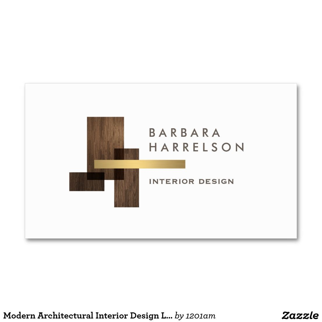 Modern Architectural Interior Design Logo and Business Card ...