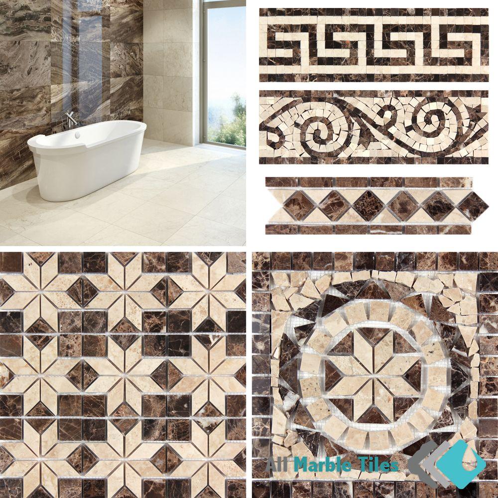 Dark emperador marble floor and mosaic wall tiles visit www dark emperador marble floor and mosaic wall tiles visit allmarbletiles or dailygadgetfo Gallery