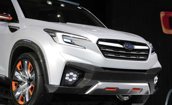 Subaru Confirms New 3 Row Crossover For 2018 Will Be Built In U S