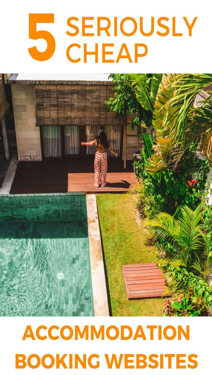5 seriously cheap accommodation booking websites for your next holiday or travel adventure. These travel websites will spit out the best travel deals and prices. Perfect for those budget travellers. #traveltip #cheaptravel #cheapwebsites